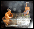 Washing-in-the-River Missandei and Grey Worm